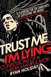 Book Cover for TRUST ME, I'M LYING