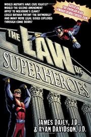 Book Cover for THE LAW OF SUPERHEROES