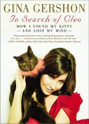 IN SEARCH OF CLEO by Gina Gershon