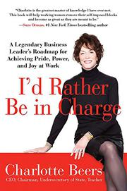 Book Cover for I'D RATHER BE IN CHARGE
