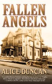 FALLEN ANGELS by Alice Duncan