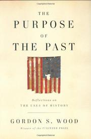 Cover art for THE PURPOSE OF THE PAST