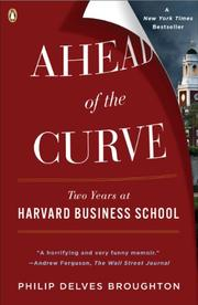 Book Cover for AHEAD OF THE CURVE