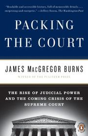 Cover art for PACKING THE COURT