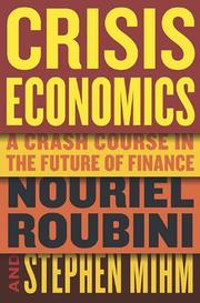 CRISIS ECONOMICS by Nouriel Roubini