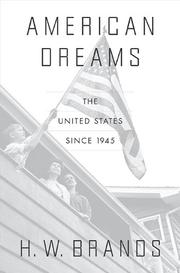 Cover art for AMERICAN DREAMS