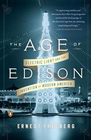 Cover art for THE AGE OF EDISON