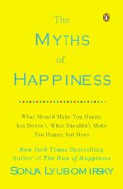 Cover art for THE MYTHS OF HAPPINESS
