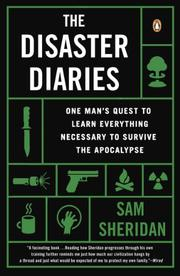 Cover art for THE DISASTER DIARIES