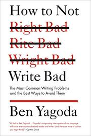 Book Cover for HOW TO NOT WRITE BAD