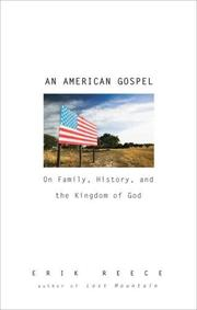 AN AMERICAN GOSPEL by Erik Reece