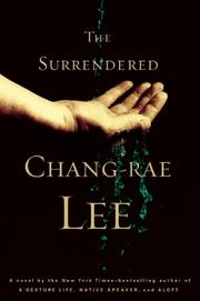 Cover art for THE SURRENDERED