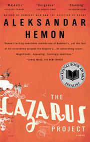 Book Cover for THE LAZARUS PROJECT