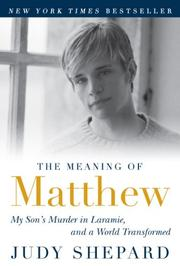 Cover art for THE MEANING OF MATTHEW