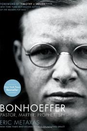 Book Cover for BONHOEFFER