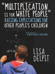 "Book Cover for ""MULTIPLICATION IS FOR WHITE PEOPLE"""