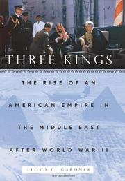 Book Cover for THREE KINGS