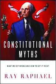 Book Cover for CONSTITUTIONAL MYTHS