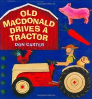Cover art for OLD MACDONALD DRIVES A TRACTOR