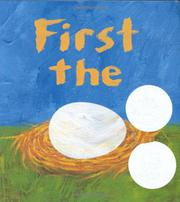 Book Cover for FIRST THE EGG