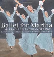 Cover art for BALLET FOR MARTHA