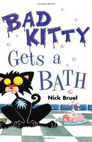 Book Cover for BAD KITTY GETS A BATH