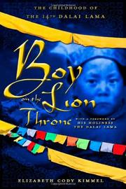 BOY ON THE LION THRONE by Elizabeth Cody Kimmel