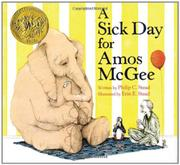 Cover art for A SICK DAY FOR AMOS MCGEE