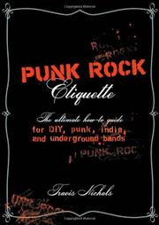 PUNK ROCK ETIQUETTE by Travis Nichols