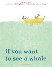 Cover art for IF YOU WANT TO SEE A WHALE