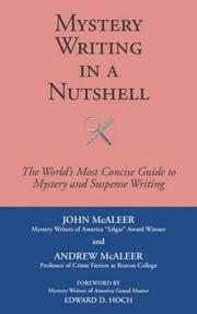 MYSTERY WRITING IN A NUTSHELL by John and Andrew McAleer McAleer