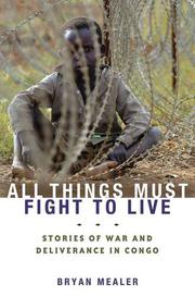 Book Cover for ALL THINGS MUST FIGHT TO LIVE