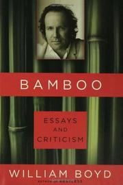 Book Cover for BAMBOO