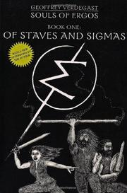 OF STAVES AND SIGMAS by Geoffrey Verdegast