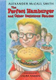 Book Cover for THE PERFECT HAMBURGER AND OTHER DELICIOUS STORIES
