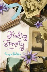 FINDING FAMILY by Tonya Bolden