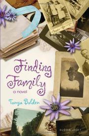 FINDING FAMILY by Tonya Bolden