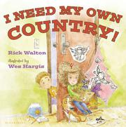 Book Cover for I NEED MY OWN COUNTRY!