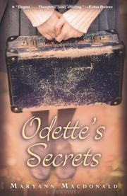 ODETTE'S SECRETS by Maryann Macdonald