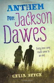 Book Cover for ANTHEM FOR JACKSON DAWES