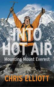 Book Cover for INTO HOT AIR