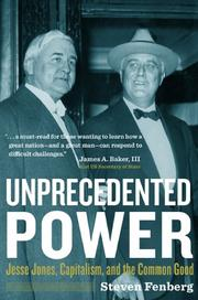 UNPRECEDENTED POWER by Steven Fenberg