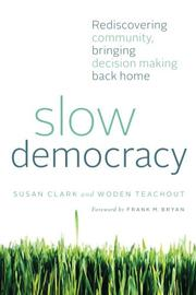 Book Cover for SLOW DEMOCRACY