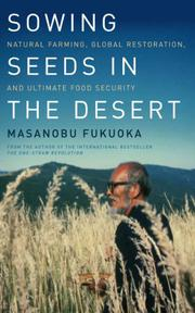 Book Cover for SOWING SEEDS IN THE DESERT