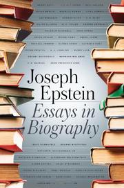 Book Cover for ESSAYS IN BIOGRAPHY