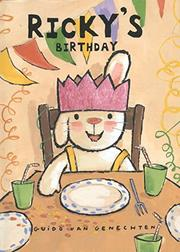 RICKY'S BIRTHDAY by Guido van Genechten