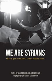WE ARE SYRIANS by Adam Braver