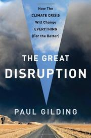 THE GREAT DISRUPTION by Paul Gilding