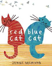 RED CAT BLUE CAT by Jenni  Desmond