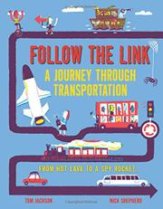 A JOURNEY THROUGH TRANSPORTATION by Tom Jackson